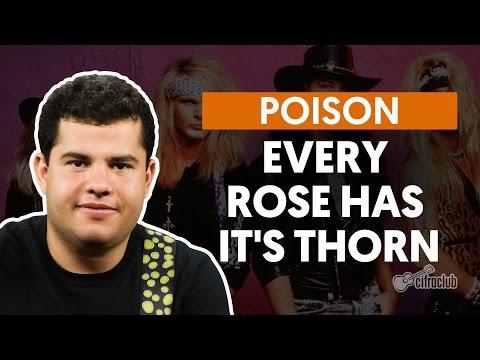 Every Rose Has Its Thorn - Poison (aula de guitarra)