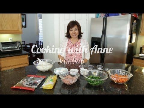 How to make KIMBAP/Korean Sushi Roll