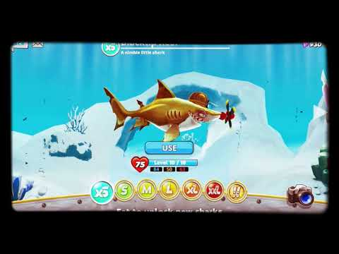 All Sharks Info (xS,S,M,L,XL,XXL,!!) (Robo) - Hungry Shark World
