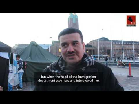 Head of Finnish Immigration agrees 'Iraq is not safe' as protests continue