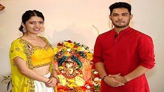 Kunwar Amar And Charlie Chauhan Celebrate Ganpati At Their House