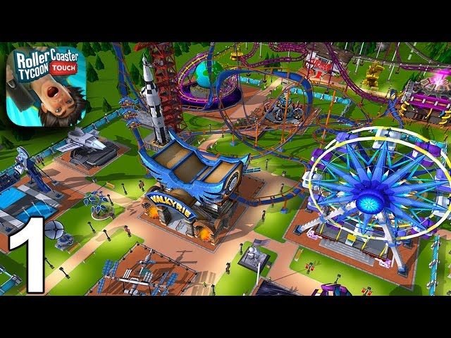 RollerCoaster Tycoon Touch game