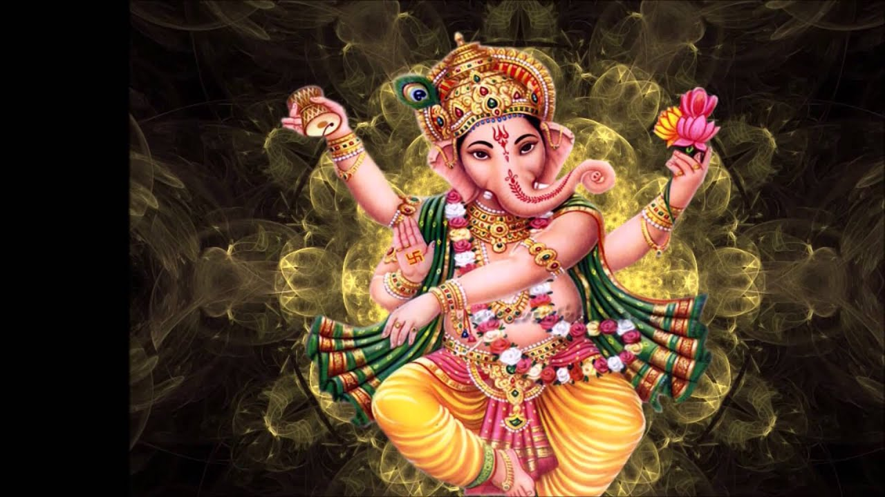 Lord Ganesha Animated Wallpapers Ganesha Shlok And Marathi Arti Sukhkarta Dukhharta With