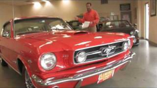 1965 Mustang GT Fastback for sale at with test drive, driving sounds, and walk through video