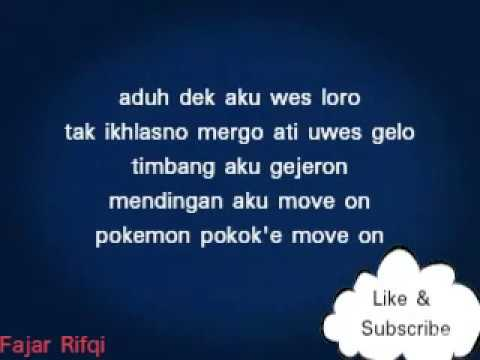 Pokemon (Pokok'e Move On) Pendhoza Ft Apsari Barbie #Lirik