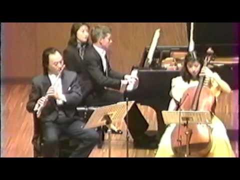 HAYDN Trio in D major Hb. 15-16 - Kudo (flute), Hasegawa (cello), Grice (piano)