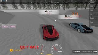 Roblox Auto Club Ice Track Racing! 2018 11 19