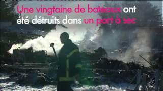 Corse : incendie dans un port à sec, 20 bateaux de plaisance détruits