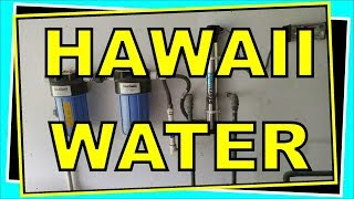 Hawaii Rain Water Catchment Plus Solar Hot Water Systems - Show & Tell