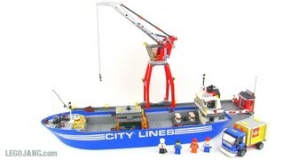 LEGO City 7994 Harbor review!