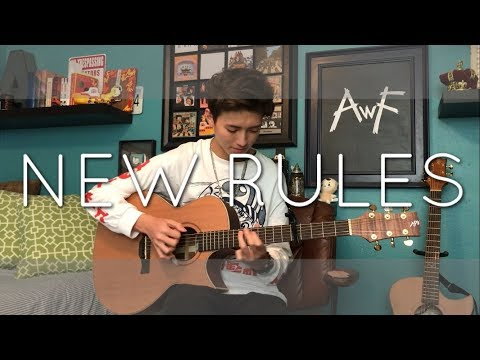 Dua Lipa - New Rules - Cover (Fingerstyle Guitar)