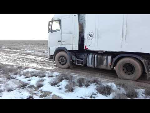 Руслан покоряет дороги Туркменистана