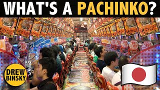 WHAT'S A PACHINKO? (only in Japan)