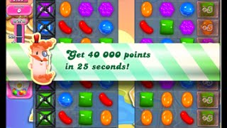 Candy Crush Saga Level 1554 walkthrough (no boosters)