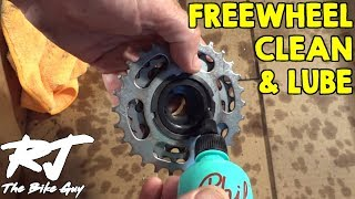 How To Clean, Degrease and Lube a Bike Freewheel