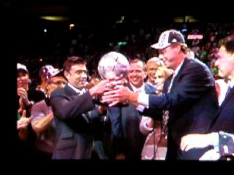 "2010 NBA Playoffs: Boston vs Orlando (Big Red: ""Bring home number 18!"")"