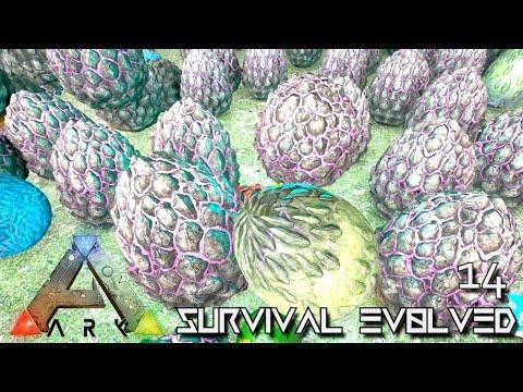 ARK: ABERRATION - HUNDREDS OF EGGS DRAKE & WYVERN !!! E14 (PUGNACIA MOD ARK: SURVIVAL EVOLVED)