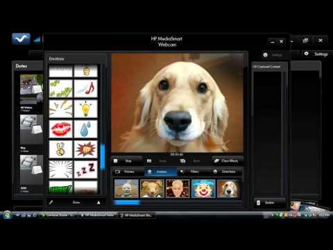 HP MediaSmart Webcam Recording Demo
