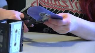 How To Make A Cassette Tape Pen Holder