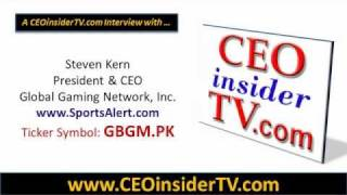 GBGM - Global Gaming Network, Inc. (GBGM.PK) CEOinsiderTV Video Interview