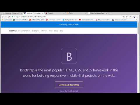 solucion bootstrap 4.0 y 4.6  popper js y tether js