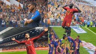 PES 2019 New Realistic Celebrations