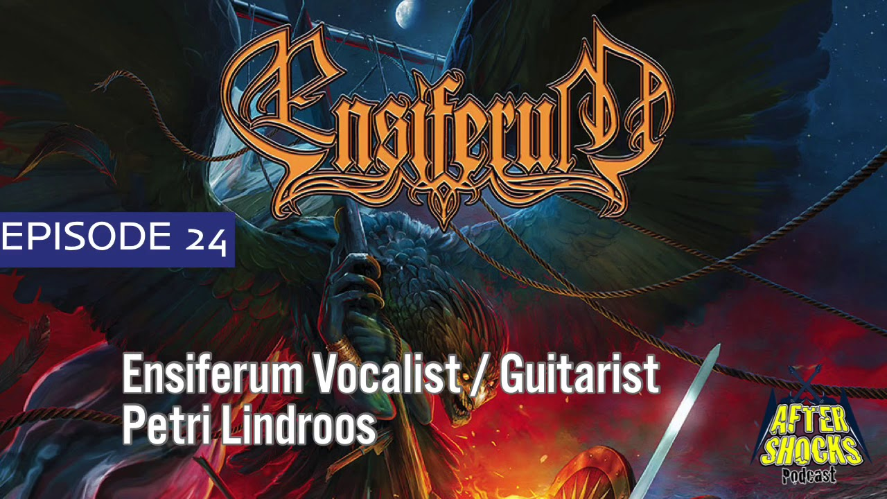 Being A Band With No Blueprint - Ensiferum Vocalist Guitarist Petri Lindroos