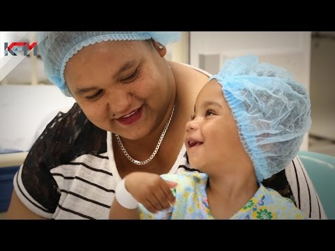 A cochlear implant for Leah with the Bidvest Hear for Life Trust