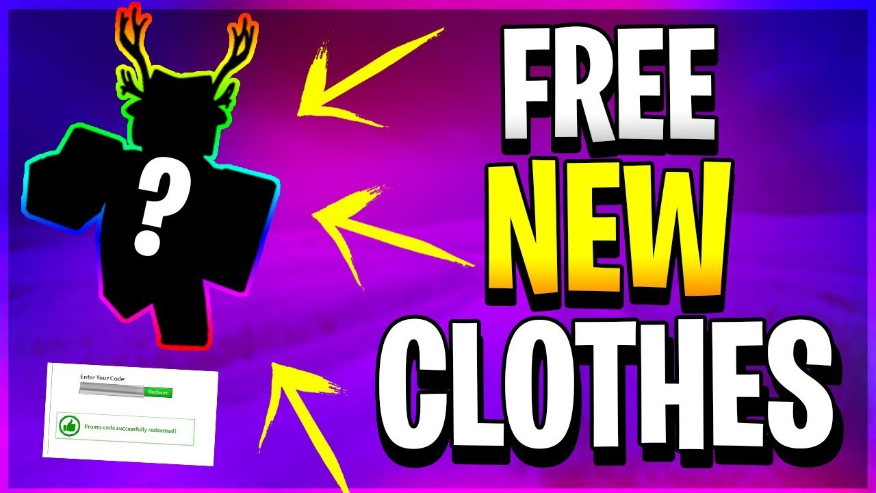 New Free Clothes Roblox Promo Codes 2019 Youtube