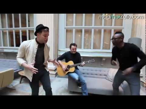 Olly Murs - Dance With Me Tonight (Acoustic - MadmoiZelle.com)