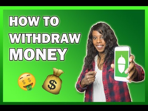 How to Withdraw Money From Acorns Account | Acorns Investing App Tutorial