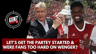 Let's Get The Partey Started & Were Fans Too Hard On Wenger? | All Gunz Blazing Podcast