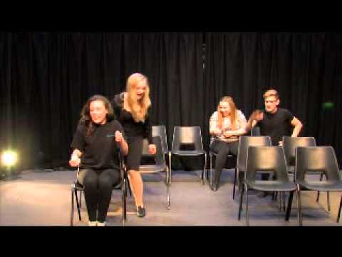 Theatre Game #52 - Character Bus. From Drama Menu - drama games & ideas for drama.