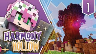 KICKED OUT ON MY FIRST DAY - MINECRAFT - HARMONY HOLLOW SMP #1