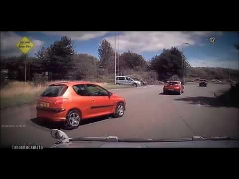 Top Stupid  Road Rage - UK Car Crashes - Bike Crashes - Near Misses