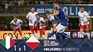 ITÁLIA 1 X 1 POLÔNIA - MELHORES MOMENTOS - UEFA NATIONS LEAGUE (07/09/2018)