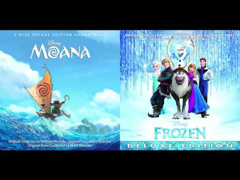 How Far I'll Let It Go - Auli'i Cravalho/Moana vs. Idina Menzel/Frozen Mashup