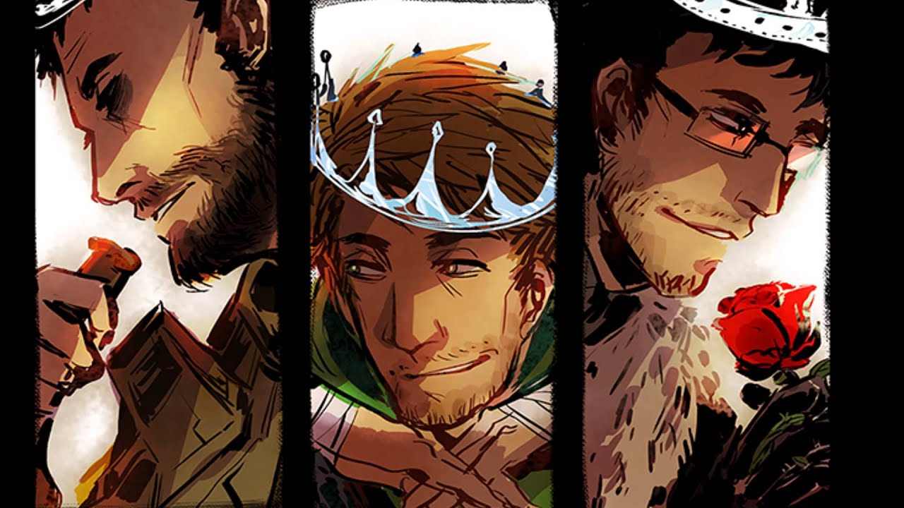 the land of the (broken) home of the (dead) ♠ achievement hunter