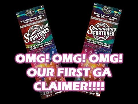 OMG!!!OMG!!! WE DID IT!! We found our first GA CLAIMER!!!! 3 Books of  Shimmering Fortunes!!!