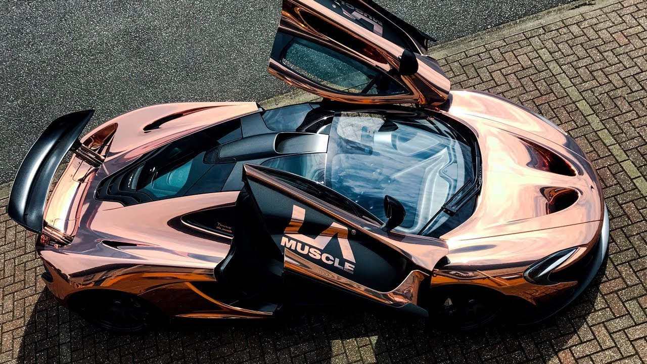 Mclaren P1 Goes To Yiannimize Transforms Chrome Rose Gold