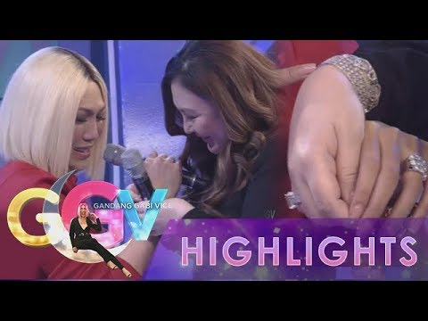 GGV: Sharon Cuneta gives one of her bracelets to Vice Ganda as a gift