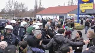 Polizeigewalt gegen Kurden und Linke in Berlin am 26.11.2011