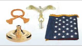 How to Assemble an Indoor US Flag Set