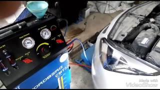 замена масла в АКПП на Hyundai Solaris