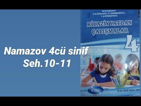 Namazov 4-cü sinif. Riyaziyyatdan çalışmalar. Səhifə 5