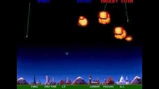 MISSILE COMMAND 2 11 ARCADE CLASSICS CLASSIC ARCADE RETRO VIDEO GAME ATARI 1992 arcadecl .avi
