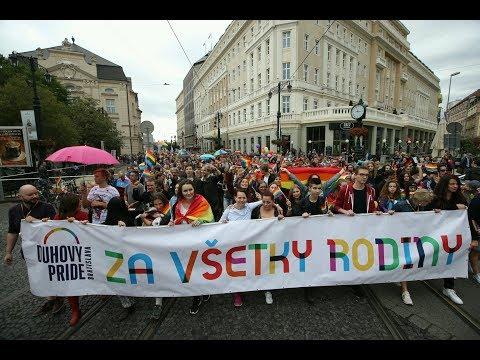 Dúhový Pride  2017 Bratislava pochod new