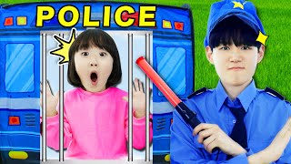 POLICE KIDS Pretend Play 경찰놀이!! 청소하고 정리하는 좋은 습관 배우기 - 마슈토이 Mashu ToysReview