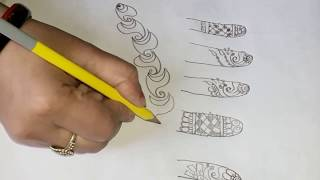 #how to learn Mehndi design class for beginners part-4 (please check description)