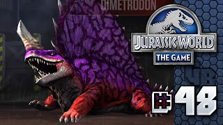 Evil Dimetrodon || Jurassic World - The Game - Ep 48 HD